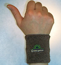 Gloves: Greenyarn Eco-fabric Wristband (size 15Kb)