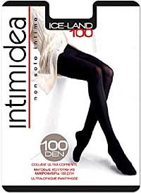 Fashion Pantyhose: Intimidea Ice-Land 100 Collant (size 38Kb)