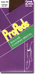 Knee Highs: Propeds Knee-Hi Comfort Sheers 15d - 2+1Pr (size 45Kb)